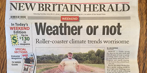 Weather Or Not, New Britain Herald - June 16 & 17, 2017